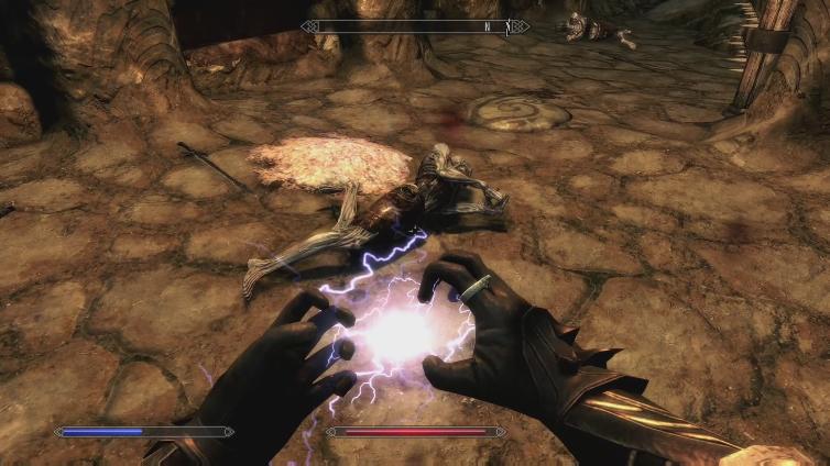 GOD327495 playing The Elder Scrolls V: Skyrim Special Edition
