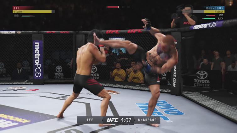 Aspironix playing EA SPORTS UFC 3